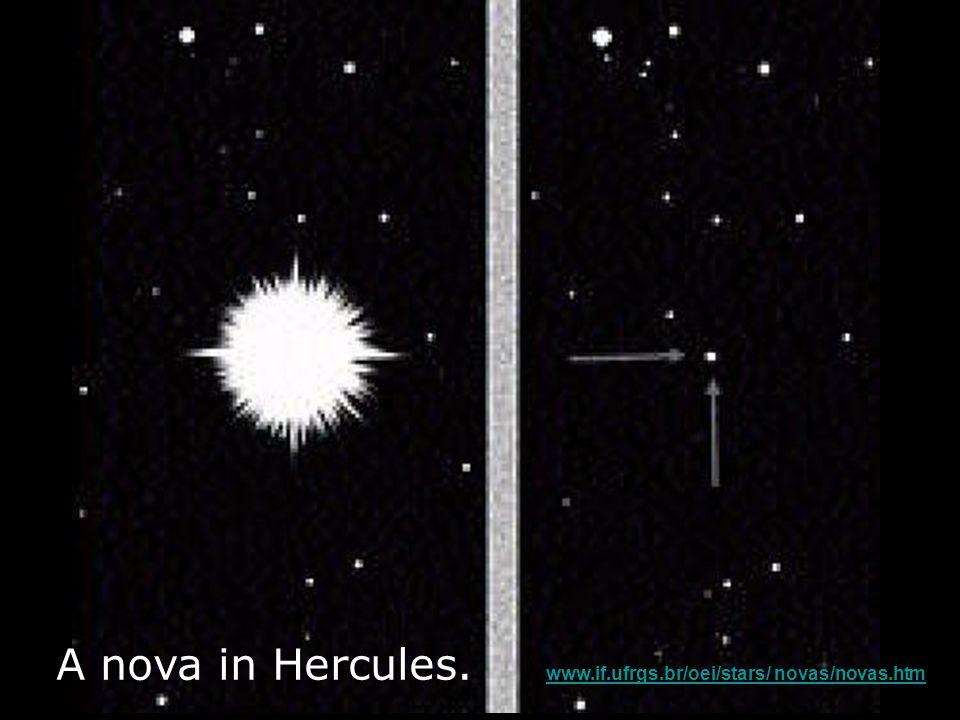 A nova in Hercules.
