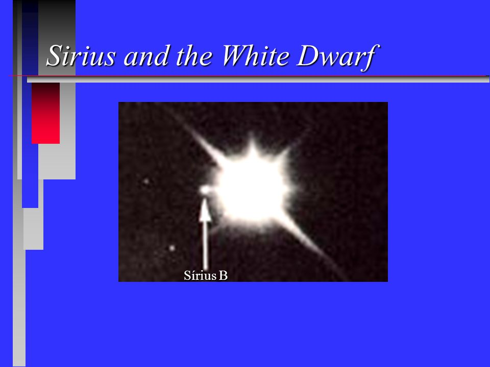 Sirius and the White Dwarf Sírius B
