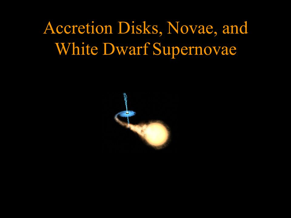 Accretion Disks, Novae, and White Dwarf Supernovae