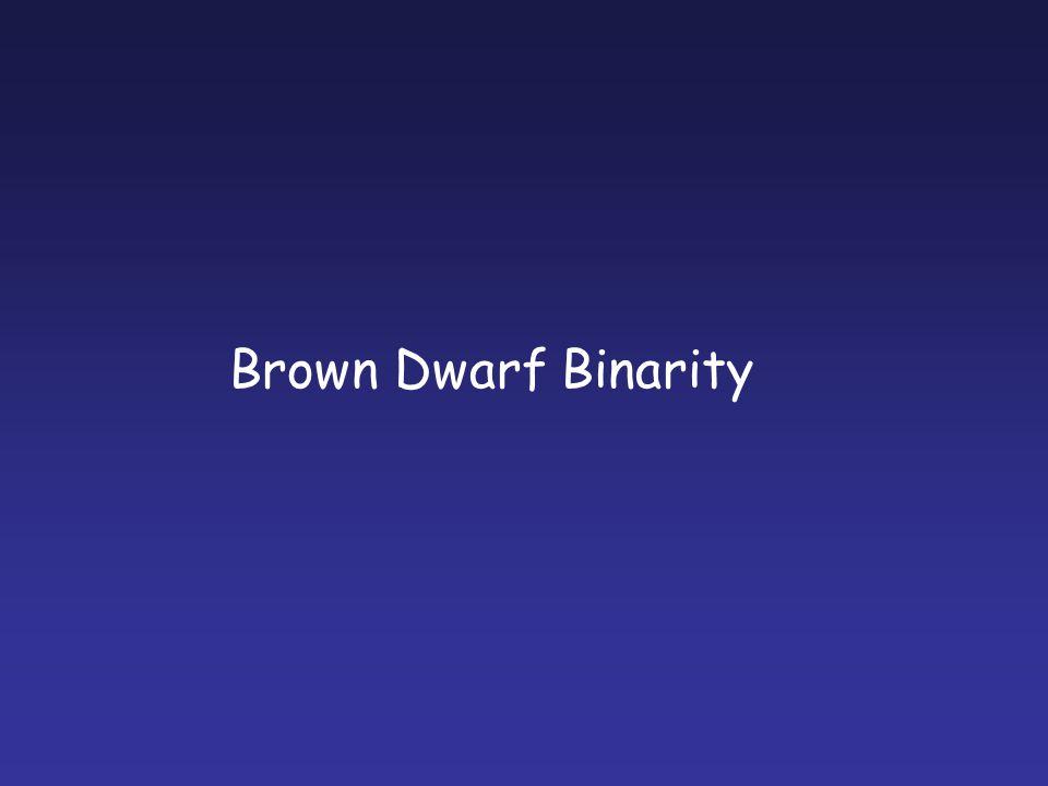 Brown Dwarf Binarity