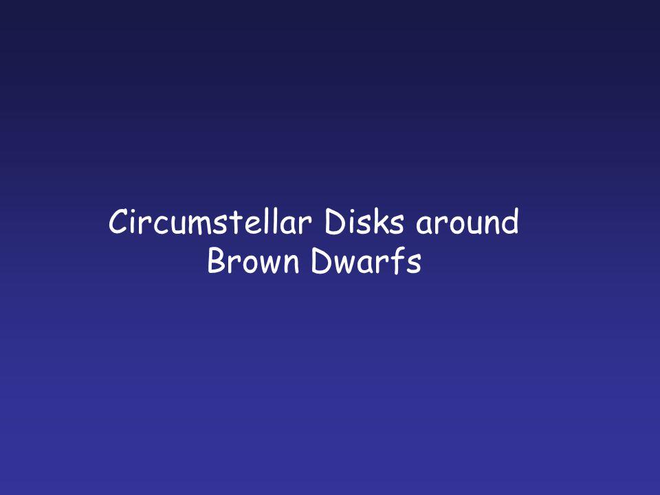 Circumstellar Disks around Brown Dwarfs