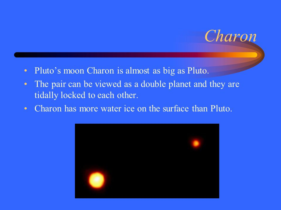 Classifying Pluto The inner planets (Mercury, Venus, Earth, Mars) are rocky.