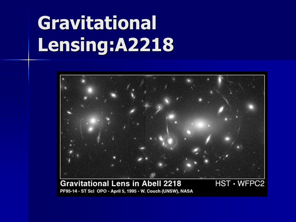 Gravitational Lensing:A2218