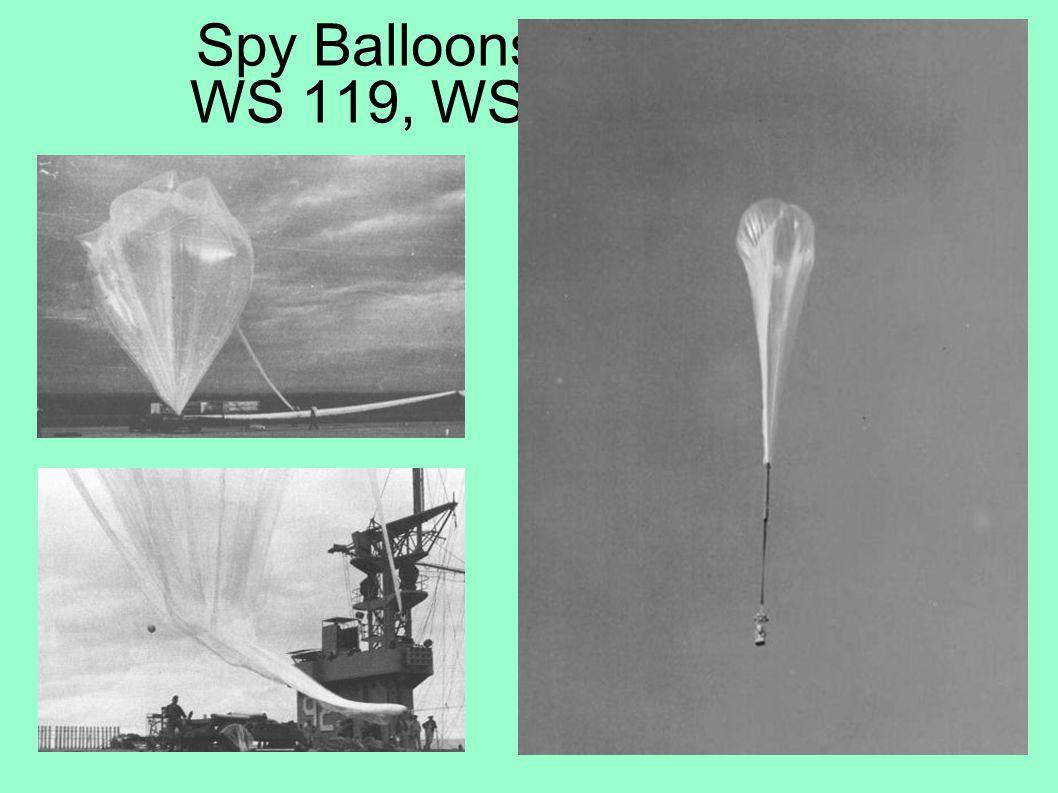 Spy Balloons... WS 119, WS 46