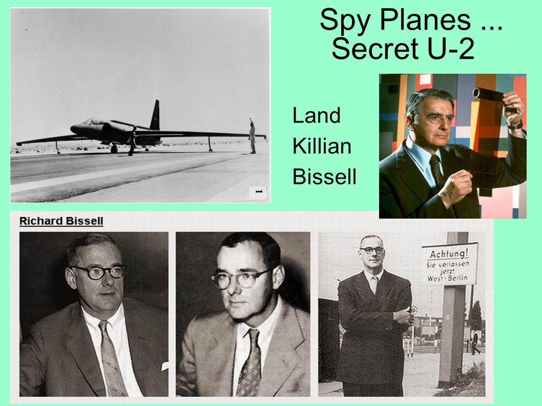 Spy Satellites! WS 116 1954