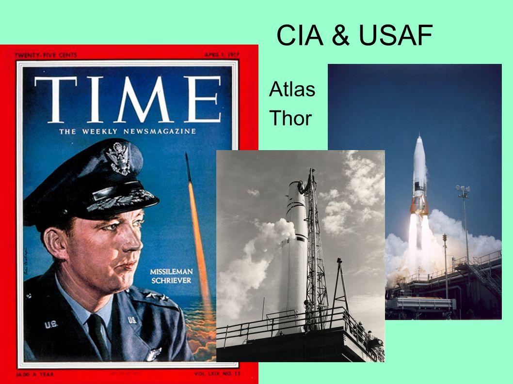 CIA & USAF Atlas Thor