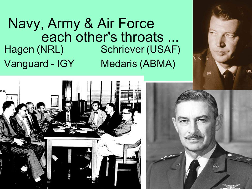 Navy, Army & Air Force at each other s throats...