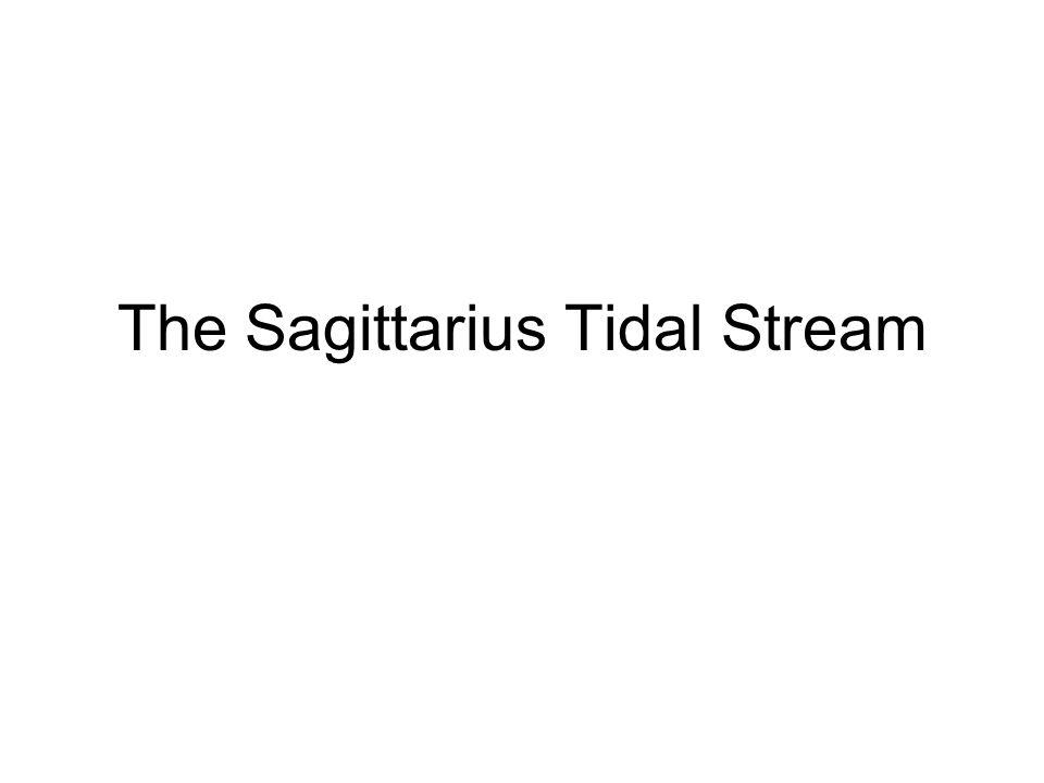 The Sagittarius Tidal Stream