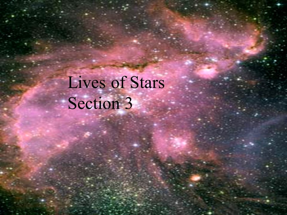 Lives of Stars Section 3