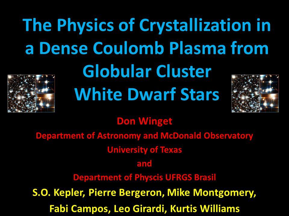(log P, log T) plane Hot pre-white dwarf model cool white dwarf model