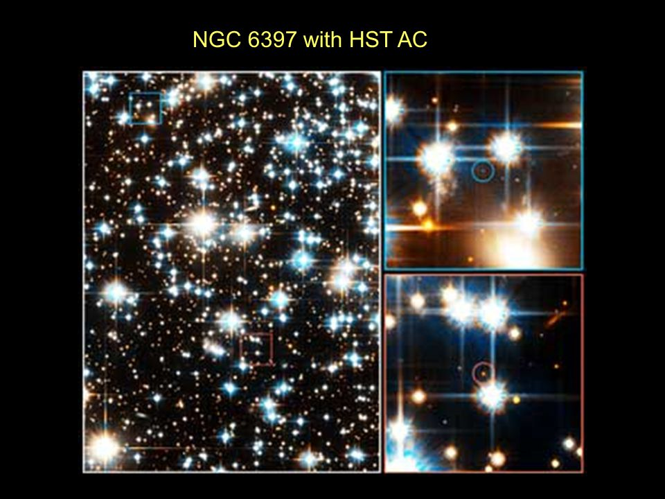 NGC 6397 with HST AC