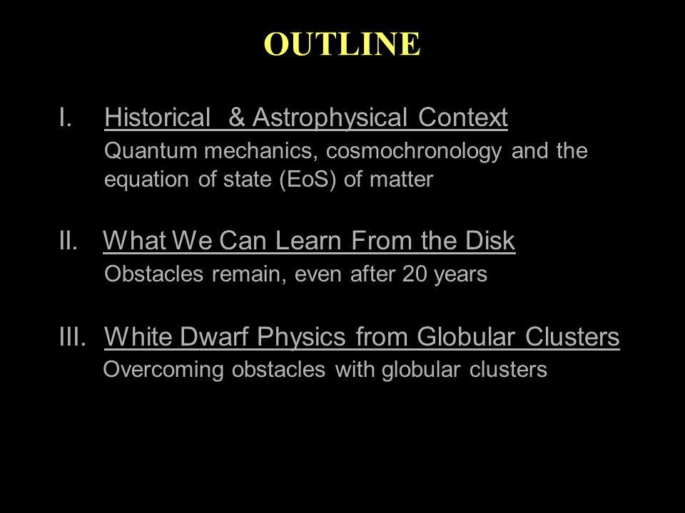 Some Recommended Reading Reviews: Fontaine, Brassard & Bergeron 2001, PASP 113:409 Hansen & Liebert 2003, ARA&A 41:465 Winget & Kepler 2008, ARA&A New: Richer et al.