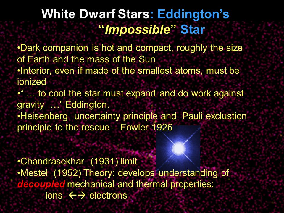 White Dwarf Flavors