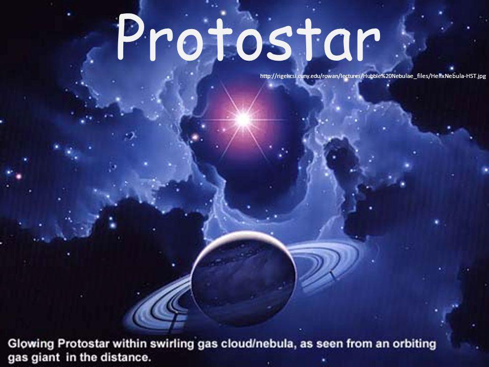 Protostar http://rigel.csi.cuny.edu/rowan/lectures/Hubble%20Neb ulae_files/HelixNebula-HST.jpg