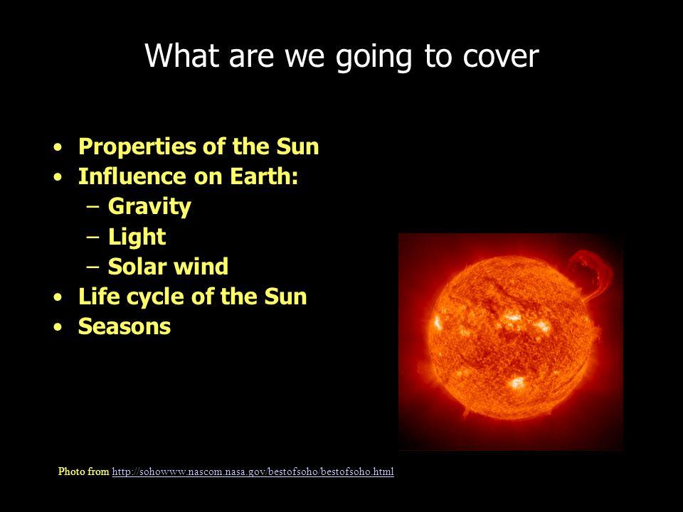 Our Sun is a Regular/ Small Star Image at http://www.gsfc.nasa.gov/topstory/20011210insidesun.htmlhttp://www.gsfc.nasa.gov/topstory/20011210insidesun.html
