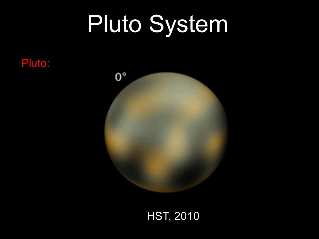 9 Pluto System Pluto: Binzel (1990)