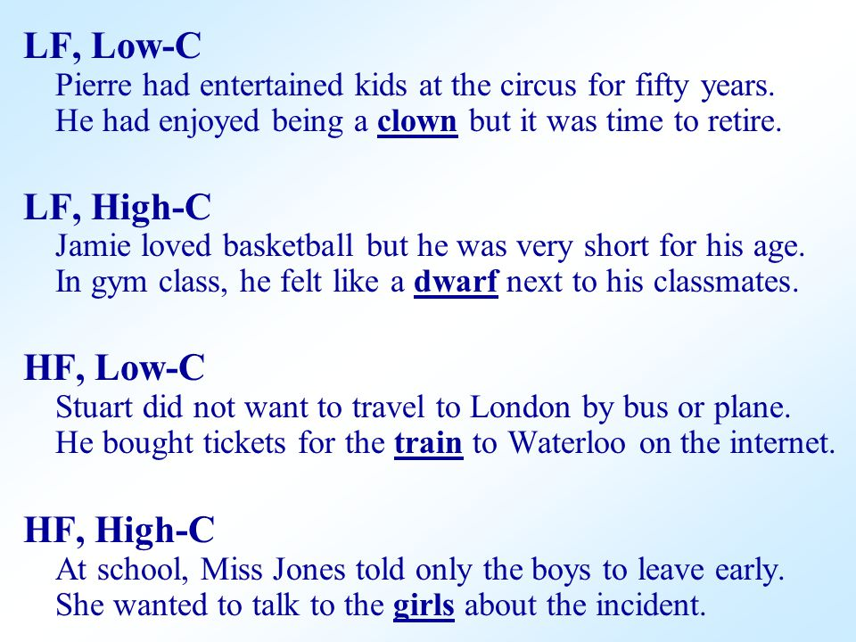 LF, Low-C Pierre had entertained kids at the circus for fifty years.