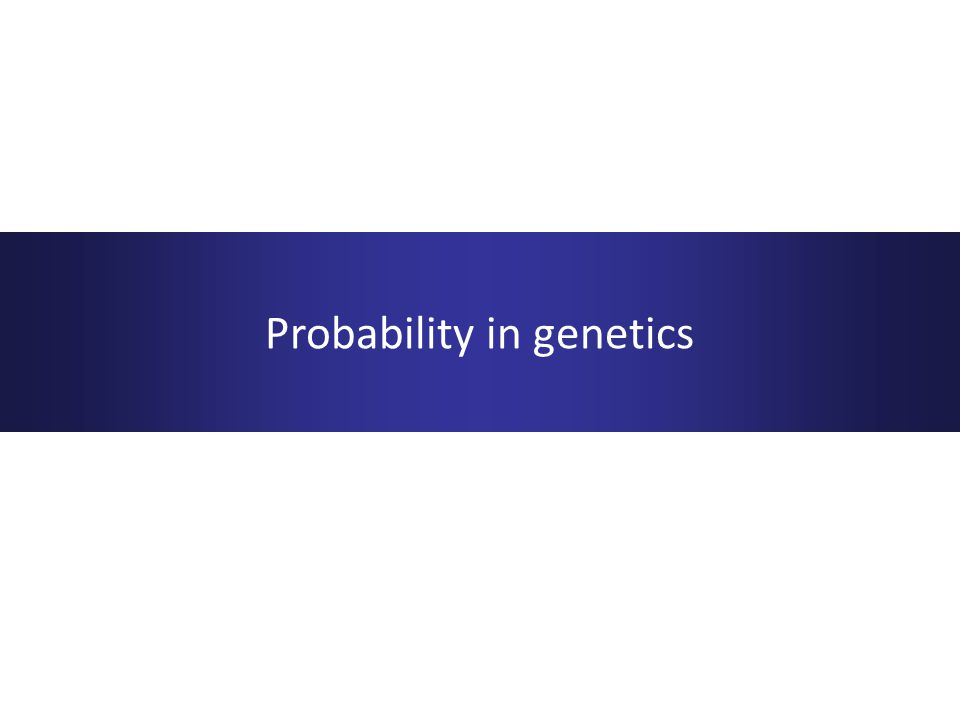 Mathematical basis to biology Relatively easy to detect Generally monogenic, coupled with selection pressures  relatively rare Genetic counselling Mendelian genetics