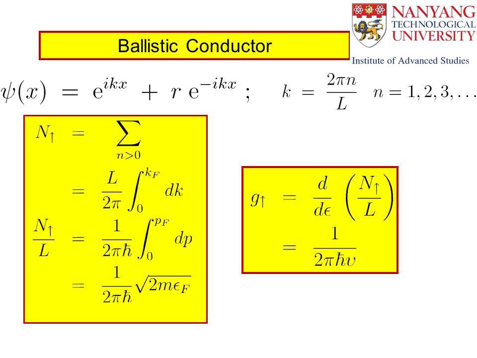 Ballistic Conductor