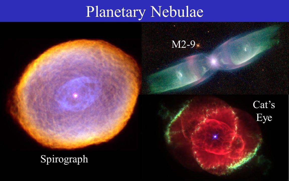 Egg Planetary Nebulae