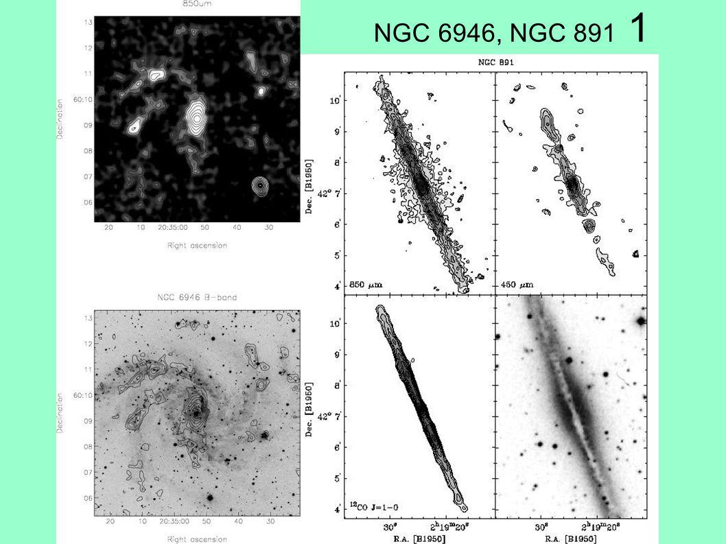 NGC 6946, NGC 891 1