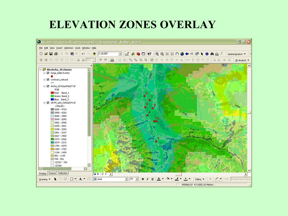 ELEVATION ZONES OVERLAY
