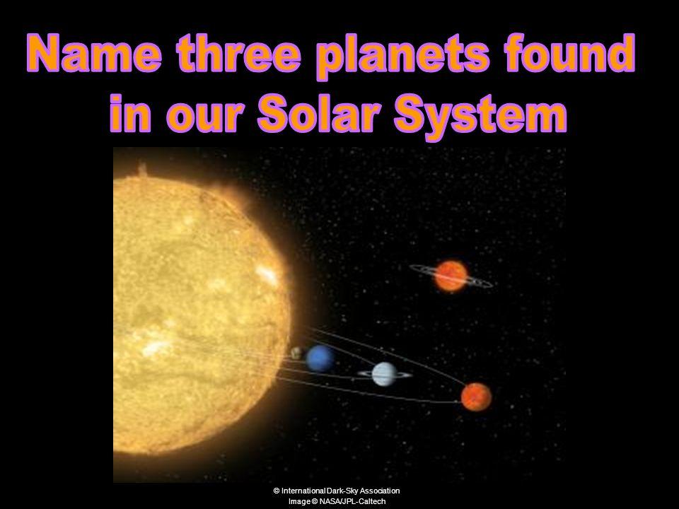 © International Dark-Sky Association Image © NASA/JPL-Caltech