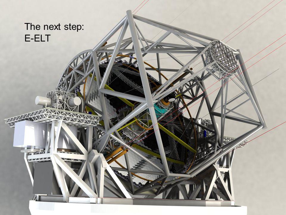 The next step: E-ELT