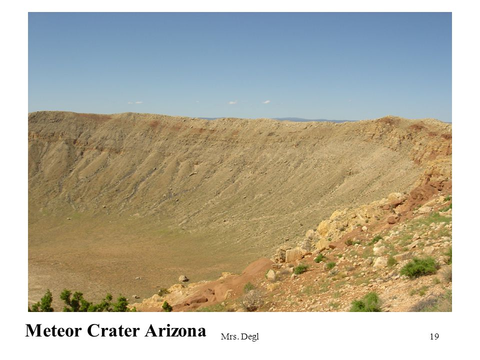 Mrs. Degl19 Meteor Crater Arizona