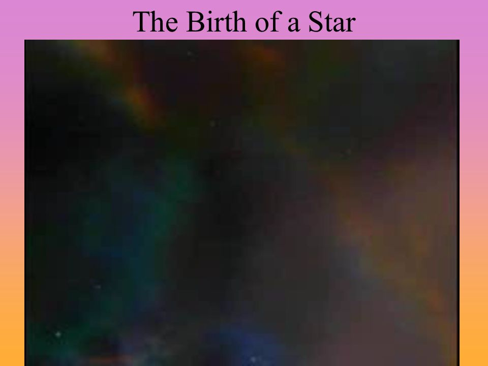 The Birth of a Star