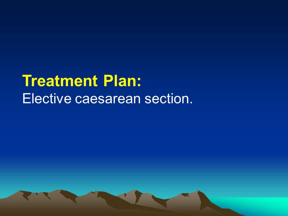Management:  Bed Rest  Analgestic-visceralgin  Hematinics  Calcium  Tab.