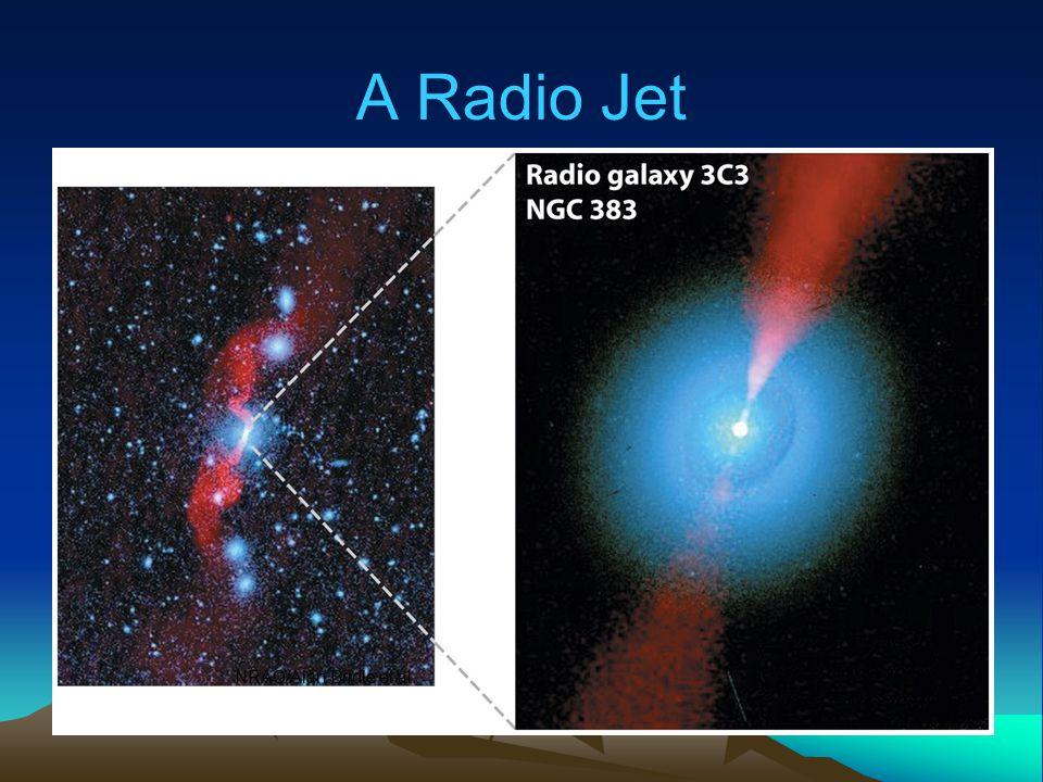 A Radio Jet NRAO/Alan Bridle et al.