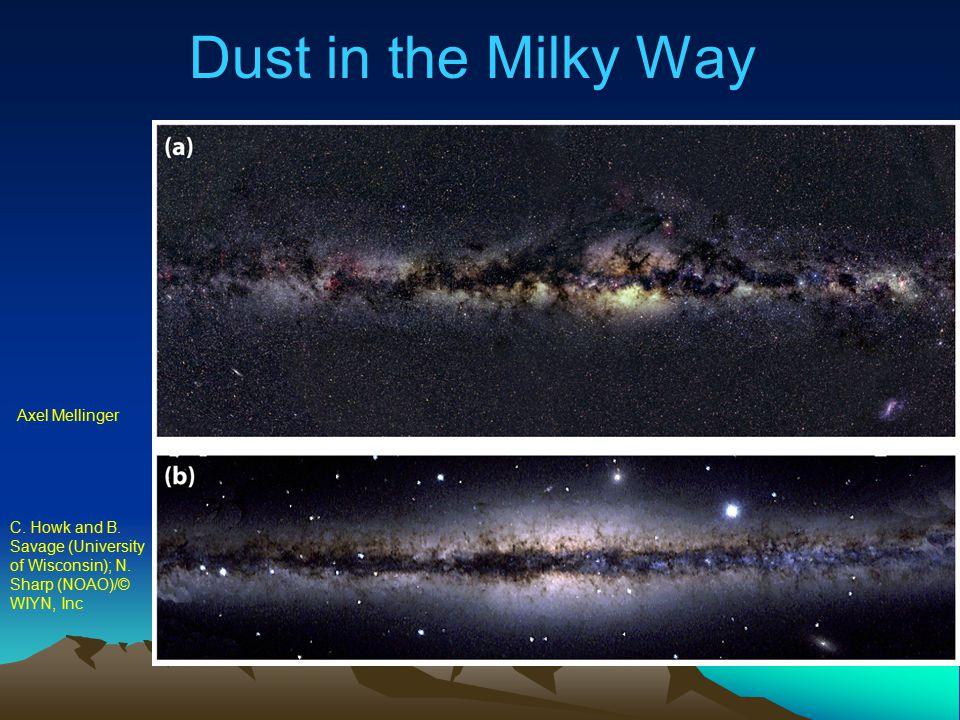 Dust in the Milky Way Axel Mellinger C. Howk and B. Savage (University of Wisconsin); N. Sharp (NOAO)/© WIYN, Inc