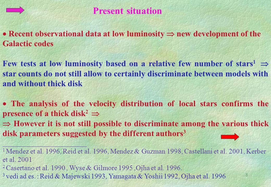 8 ________________________ 1 Mendez et al. 1996, Reid et al.