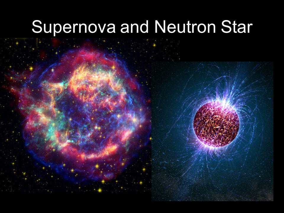 Supernova and Neutron Star