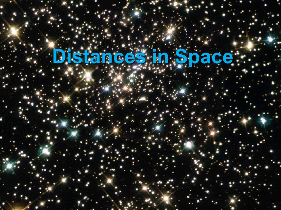 Distances in Space