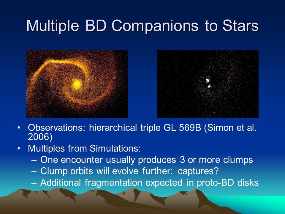 Multiple BD Companions to Stars Observations: hierarchical triple GL 569B (Simon et al.