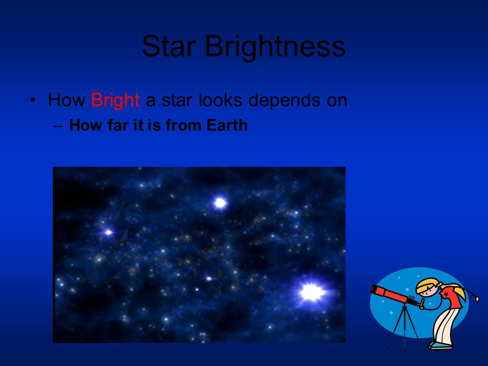 Star Size Dwarfs: Small up to 20 times larger than our sun and up to 20,000 times brighter.