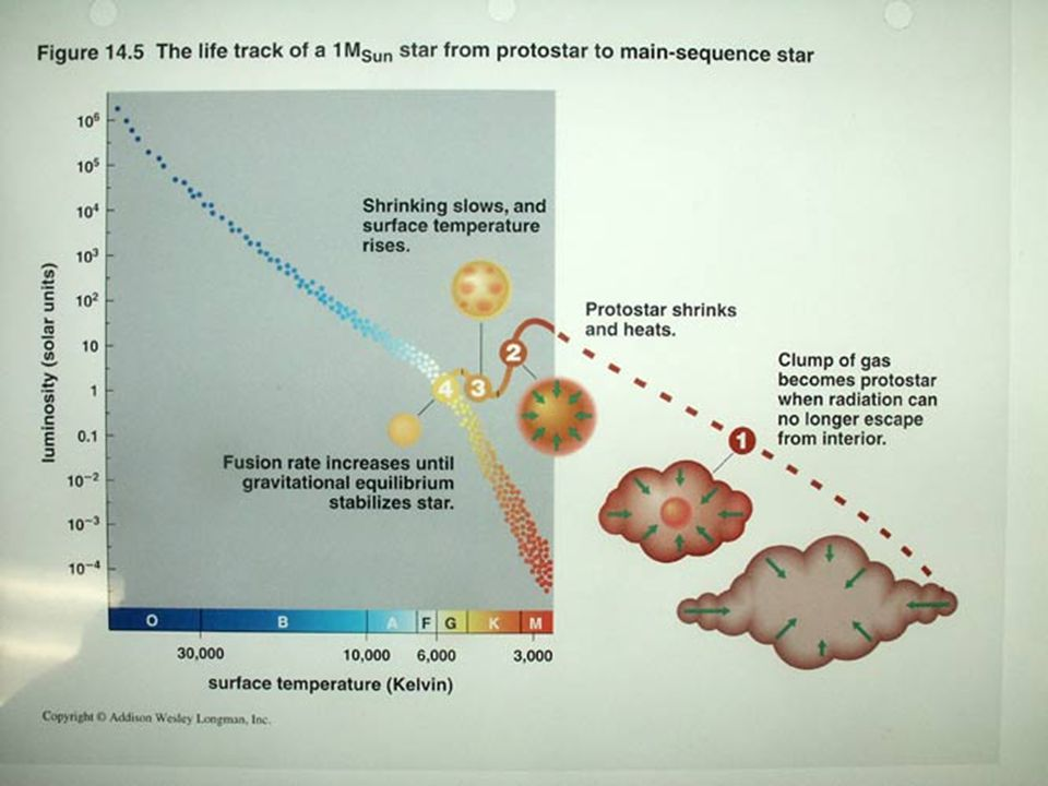 HR pre main sequence sun