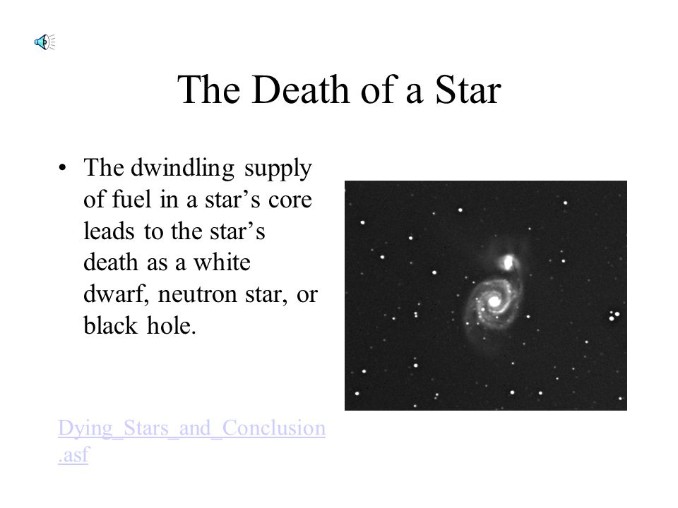 Life Cycles of Stars Adult Stars – A star's mass determines the star's place on the main sequence and how long it will stay. The amount of gas and dus