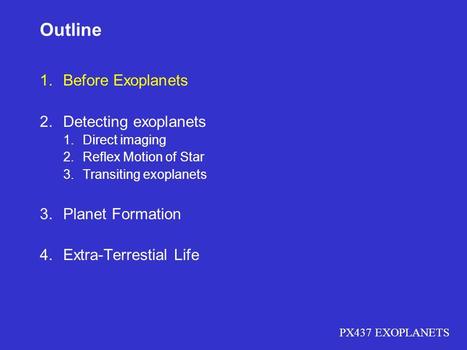 PX437 EXOPLANETS IAU Terrestrial planets Gas giantsIce giants Asteroid beltKuiper belt