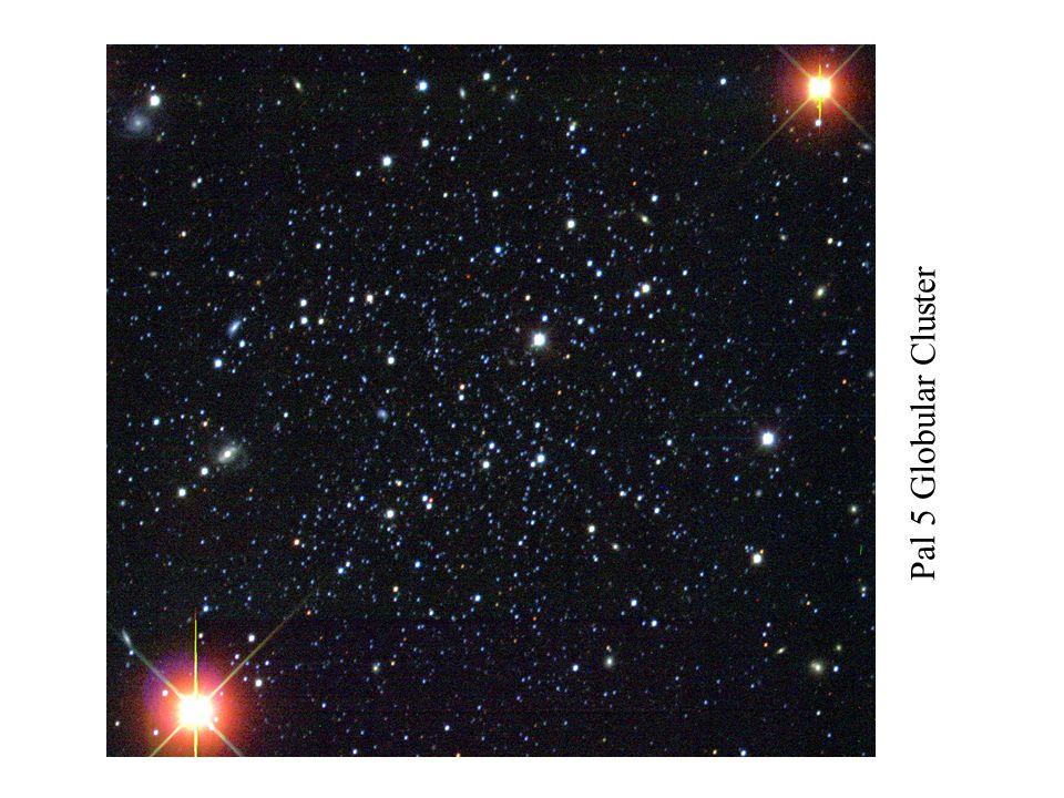 Pal 5 Globular Cluster