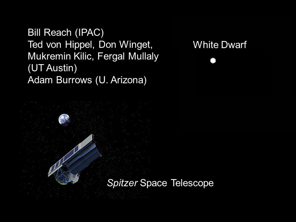 Spitzer Space Telescope White Dwarf Bill Reach (IPAC) Ted von Hippel, Don Winget, Mukremin Kilic, Fergal Mullaly (UT Austin) Adam Burrows (U.