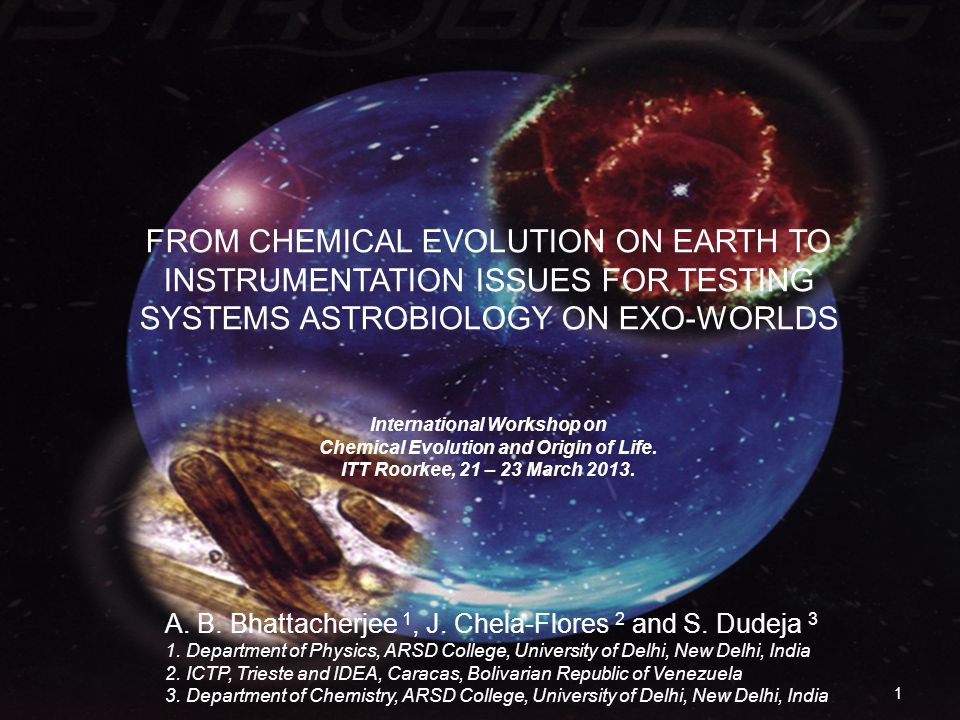 Life on exoworlds The Earth-like worlds (ELWs: planets and exomoons) 2