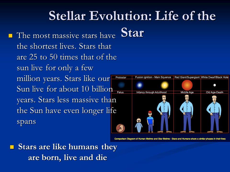 Star size comparison