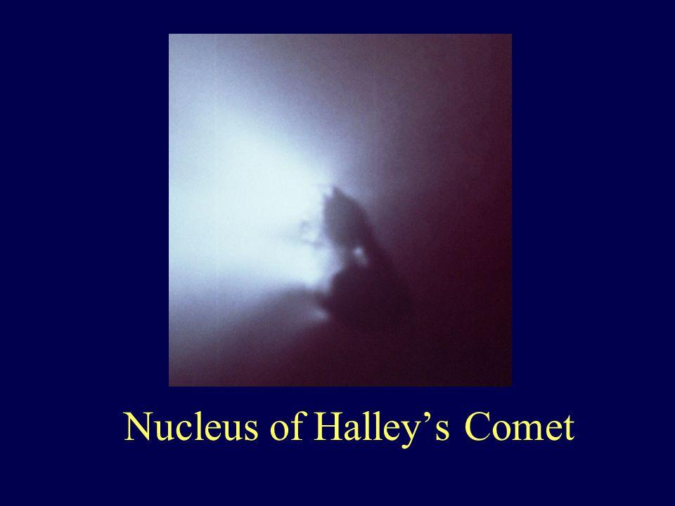 Nucleus of Halley's Comet