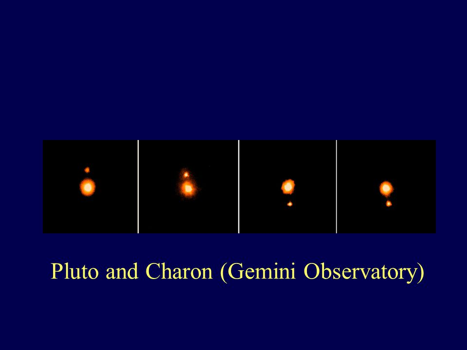 Pluto and Charon (Gemini Observatory)