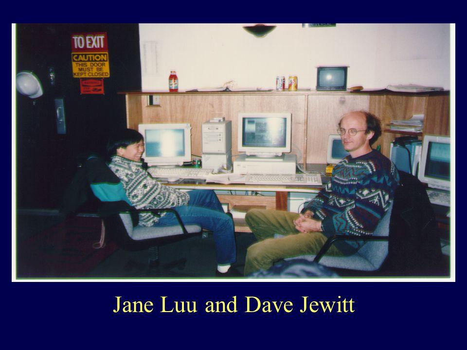 Jane Luu and Dave Jewitt