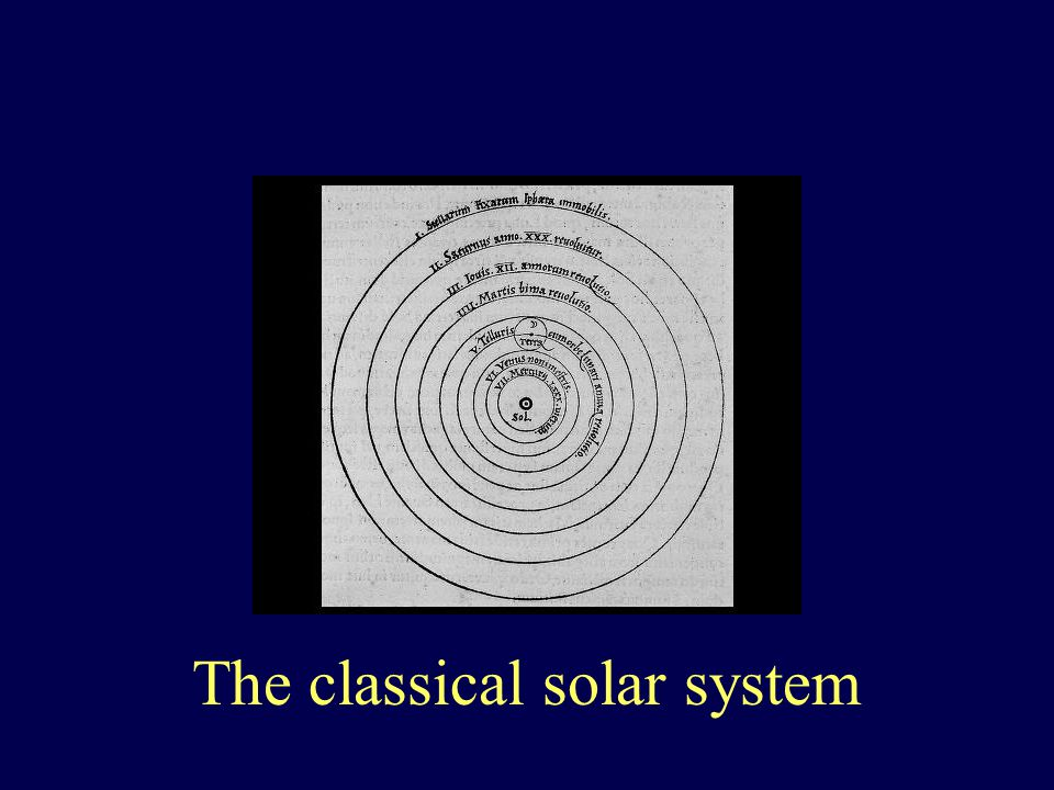 The classical solar system
