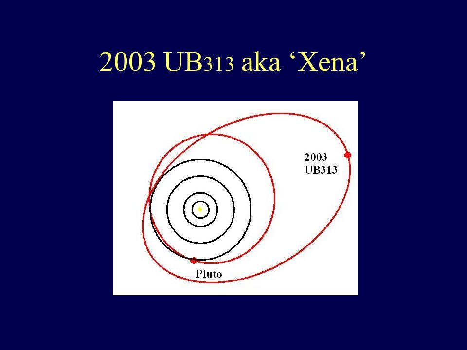 2003 UB 313 aka 'Xena'